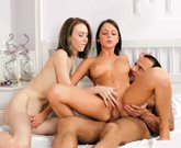 Broken Teens – Lets wake him up for a threesome