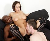 Do The Wife – Black Dude Fucks Wife in Ass – Hubby Licks Pussy