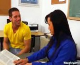 Fucking my teacher – Lisa Ann and Johnny Castle