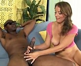 Carmen Callaway, Alice Green and Kayla West get big black cock