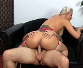 Holly bangs step brother and gets her face covered and her mouth full of his cum