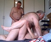 The hooker is fucked – Threesome with marriage hooker