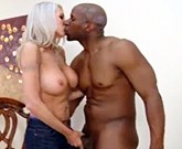 Hot blonde with big tits Emma Starr take neighbor cock
