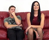 Webcamshow with Marley Brinx getting pounded during livechat